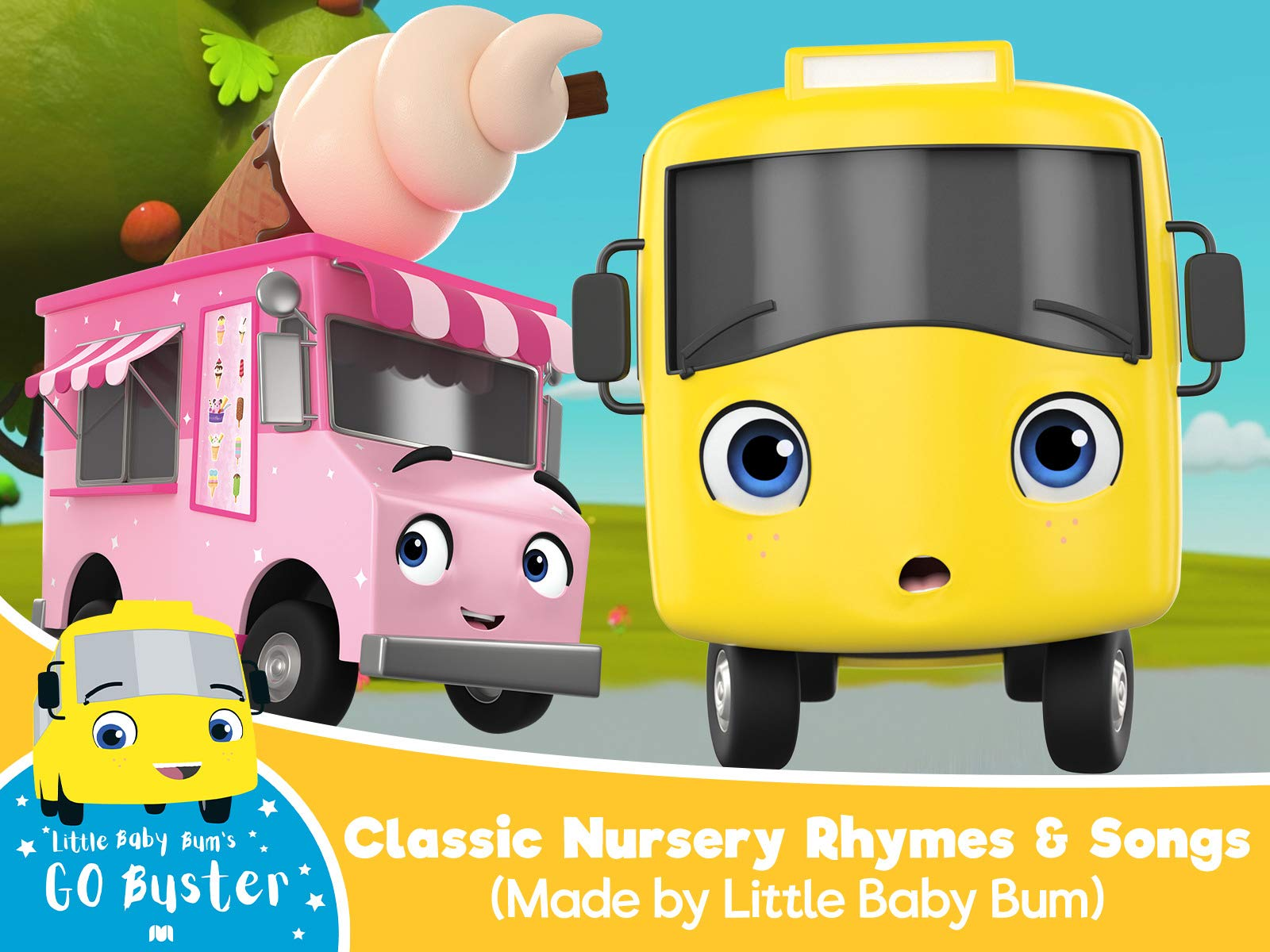 Go Buster - Classic Nursery Rhymes & Songs (Made by Little Baby Bum) - Season 3