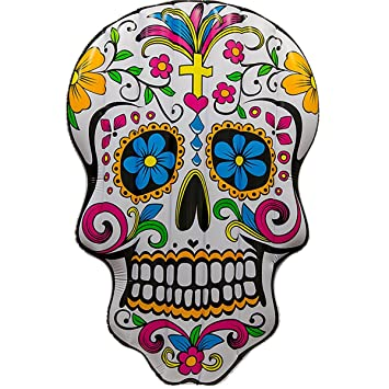 Colchoneta Hinchable Calavera Mexicana Adventure Goods ...