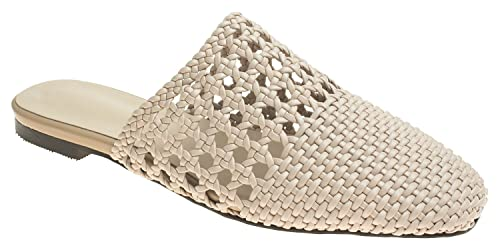 82c0874aa9c Image Unavailable. Image not available for. Color  AnnaKastle Womens Woven  Mule Slide Flat Slipper Sandals