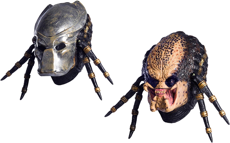 B000B8X16Q Rubie's Adult Aliens Vs. Predator Requiem Deluxe Overhead Predator Mask 71JHLSGGwxL