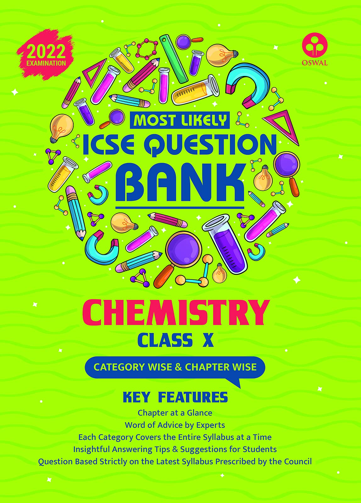Most Likely Question Bank for Chemistry: ICSE Class 10 for 2022 Examination Paperback – 15 April 2021