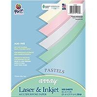 Riverside Paper 101058 Array Assorted Pastel Colored Bond Paper, 8-1/2 x 11, 20-lb., 500 Sheets/Ream