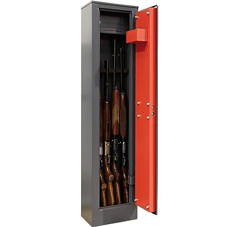 Arregui ARM030325 Armero para 3 Escopetas, Gris Oscuro, 52.5 l: Amazon.es: Bricolaje y herramientas