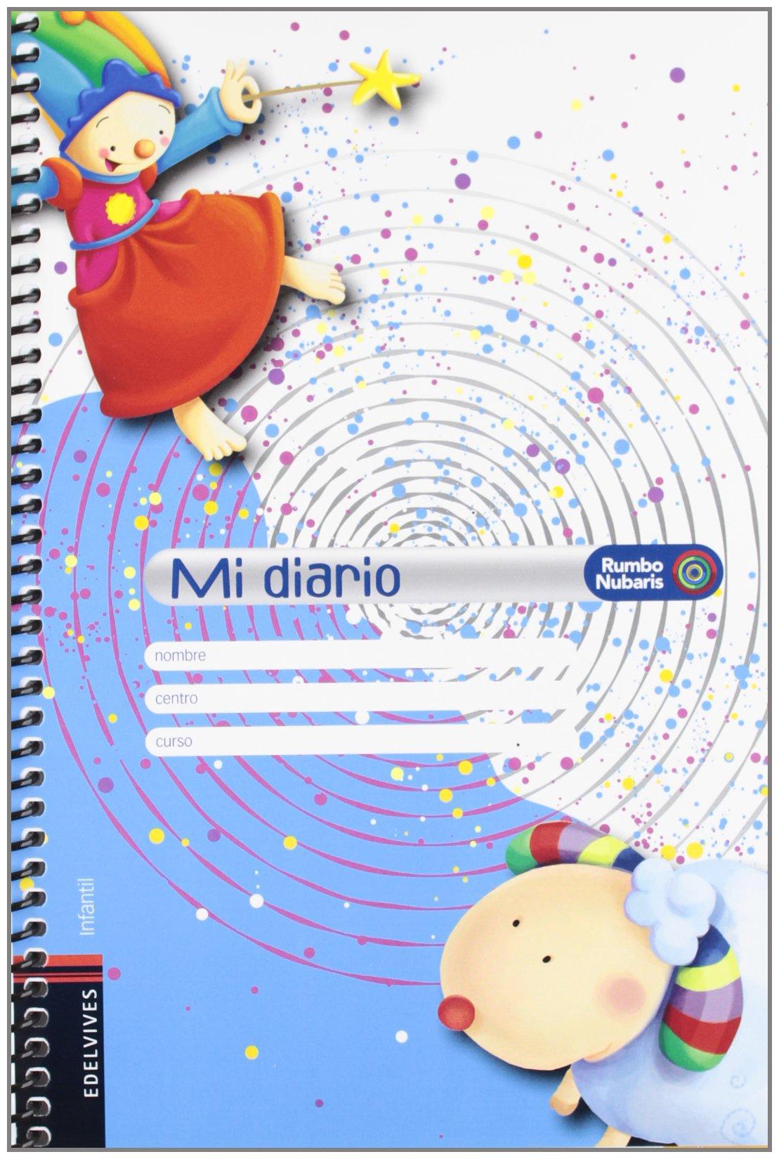 MI DIARIO (AGENDA) PROY.NUBARIS: 8414643515135: Amazon.com ...