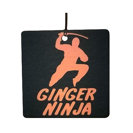 Amazon.es: AAF Ambientador De Coche Ginger Ninja