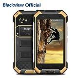 Outdoor Handy, Blackview BV6000S Android 7.0 OS IP68 Wasserdichte / Stoßfest / Staubdicht Robuste Smartphone mit 4500mAh Big Akku, 4,7 '' HD 1280 * 720 Bildschirm, 2GB RAM + 16GB ROM, 2MP + 8MP Kamera, NFC GPS GLONASS PTT Funktion