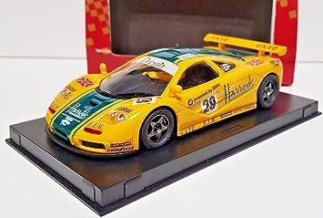 "SCX Scalextric Slot Ninco 50130 McLaren F1 GTR ""Harrods"""