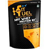 MyFitFuel Whey Protein 80 (German Chocolate Delight, 2 lbs /907g)