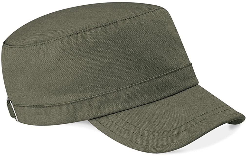 Beechfield Unisex Organic Cotton Army Cap UTRW2035_1