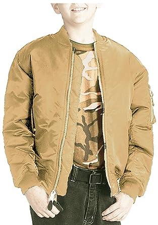 b8c8bb8b0 Amazon.com  Boys Bomber Jacket