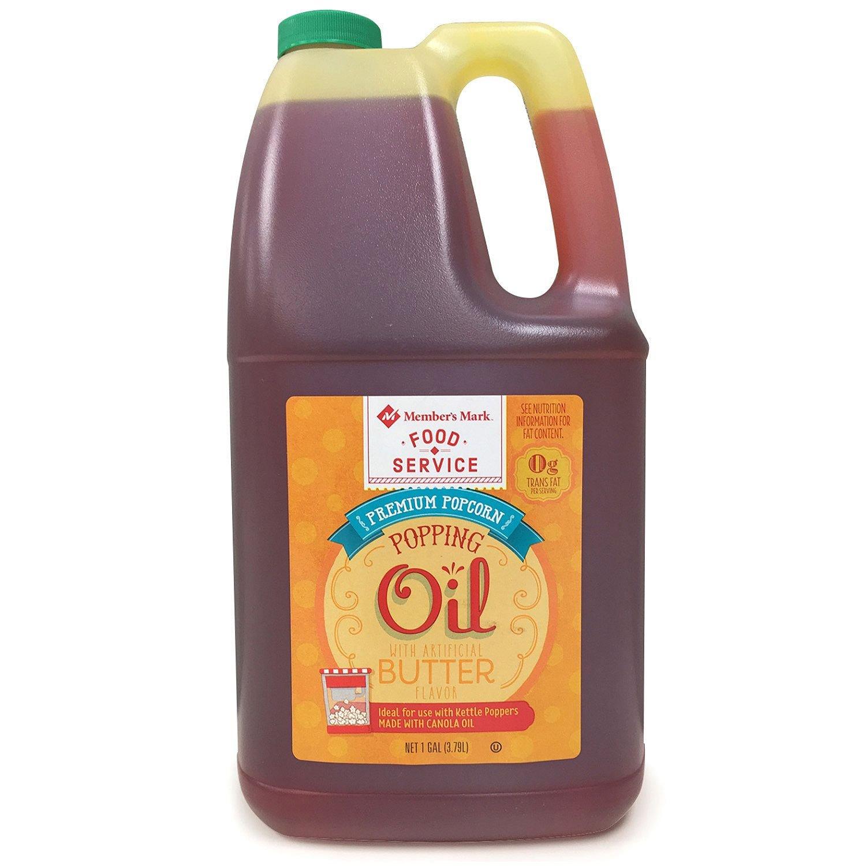 Member's Mark Popcorn Oil 1 gal (pack of 6) by Member's Mark