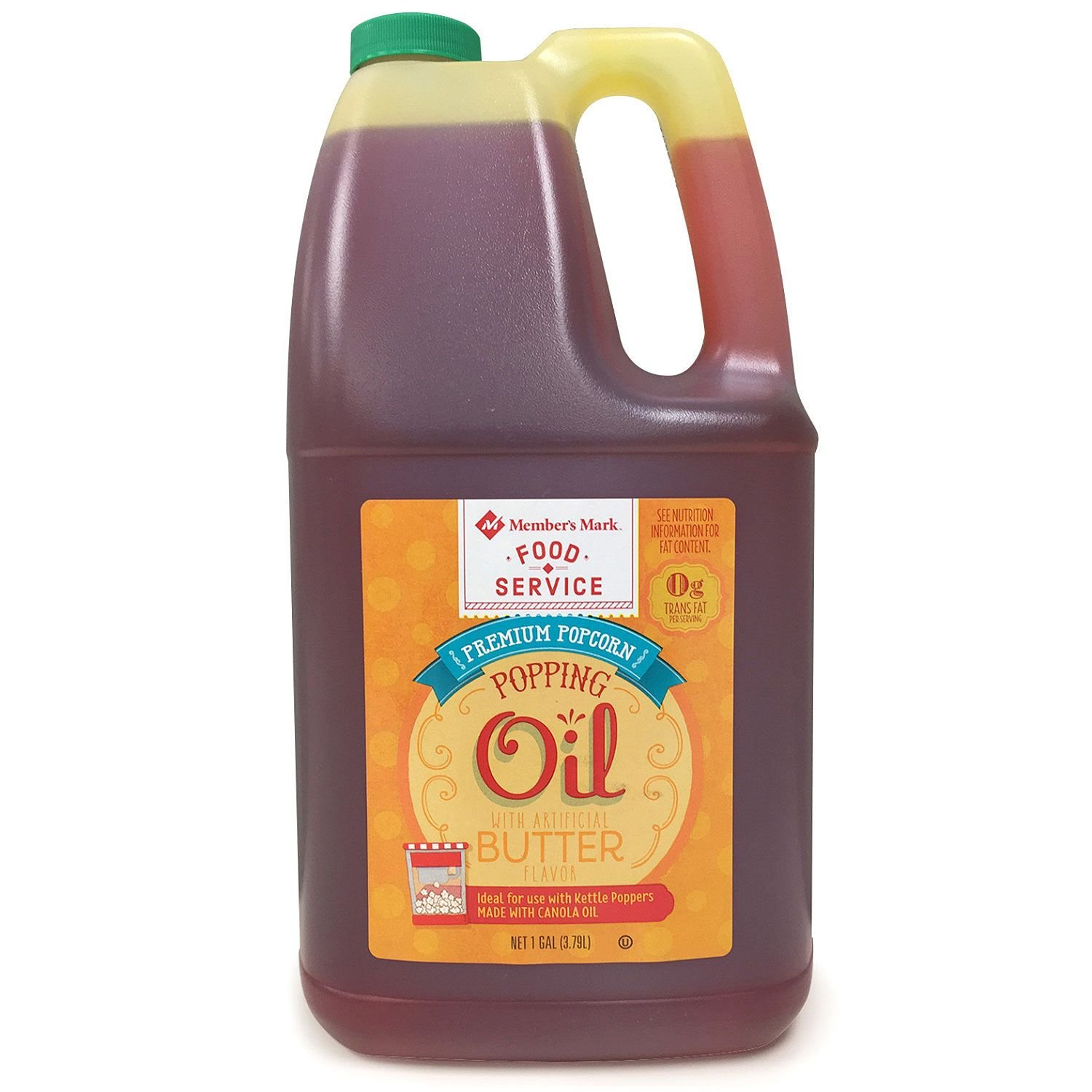 Member's Mark Popcorn Oil 1 gal (pack of 2)