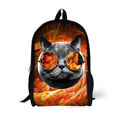 Amazon.com   Coloranimal Cool Teenager Boys School Bags Mochilas Escolar  Bookbag   Kids  Backpacks c1ea9d0c3c