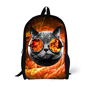 Amazon.com | Coloranimal Cool Teenager Boys School Bags Mochilas Escolar Bookbag | Kids Backpacks