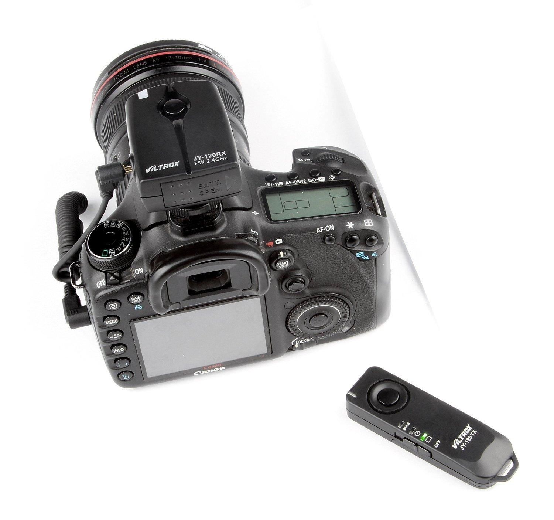 VILTORX JY-120-N3 wireless remote shutter release Transmitter Receiver for Nikon D7200 D7100 D5500 D7000 D90 D5300 D5200 D5100 D3300 D3200 D3100 D600 D610