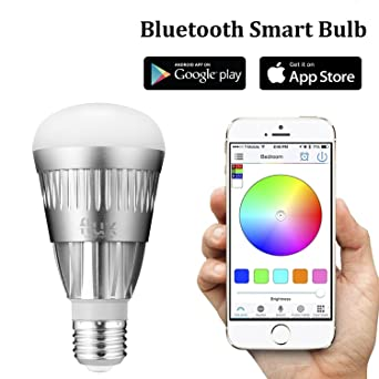 flux bluetooth led smart bulb wireless multi color changing light for kitchen bedroom