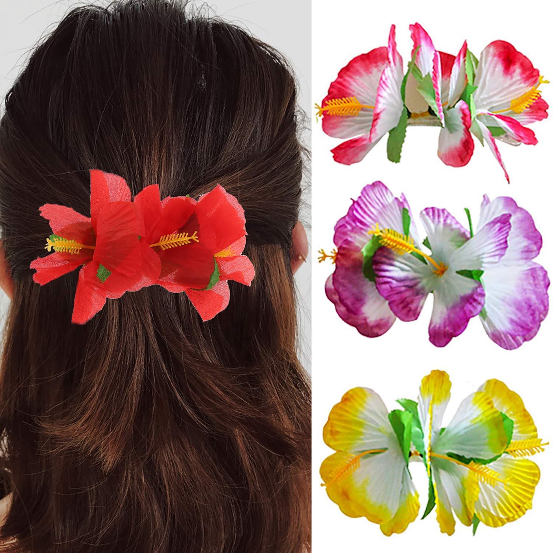 VIEL MEHR IM SHOP !!! Haarspange Blüte FARBWAHL +