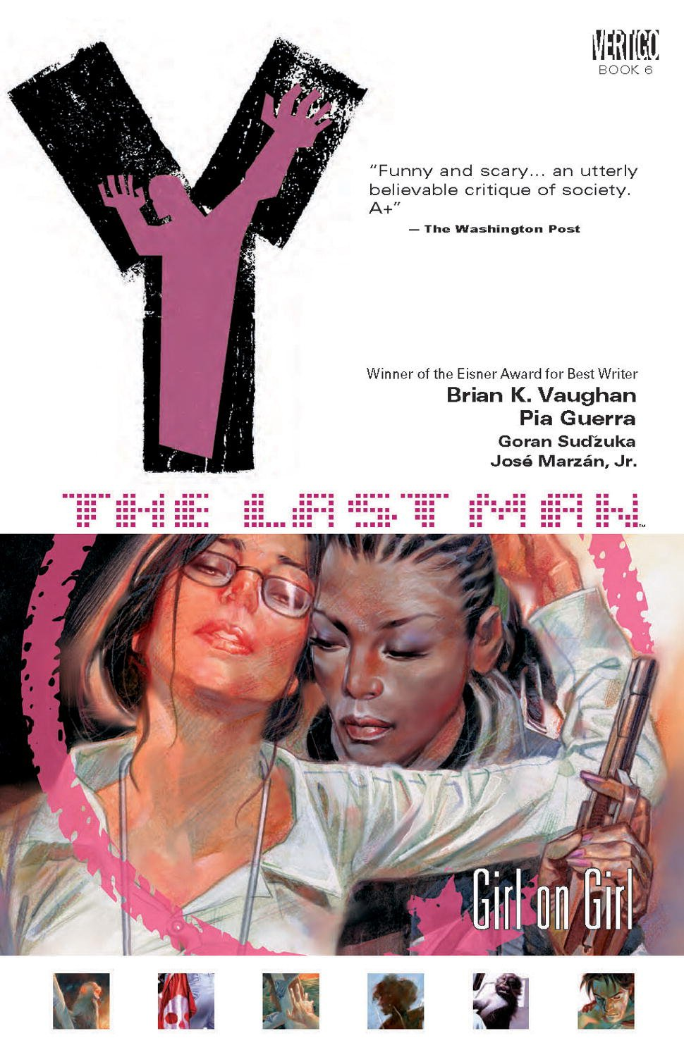 Amazon.com: Y: The Last Man, Vol. 6: Girl on Girl (9781401205010): Brian K.  Vaughan, Pia Guerra: Books