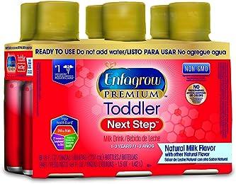 Enfagrow PREMIUM Toddler Next Step Natural Milk, Ready to Use, 8 Fluid Ounce Bottle