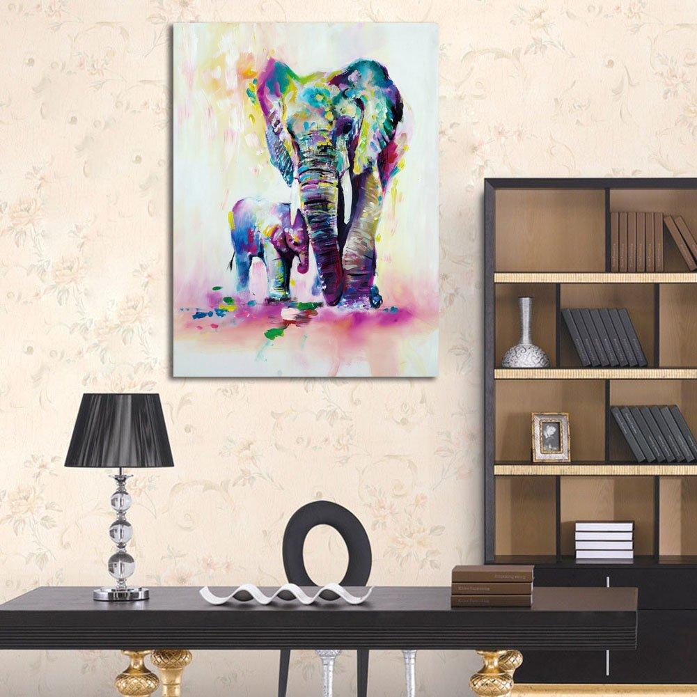 Amazon.com: ShuaXin - Estampa de pintura al óleo de ...