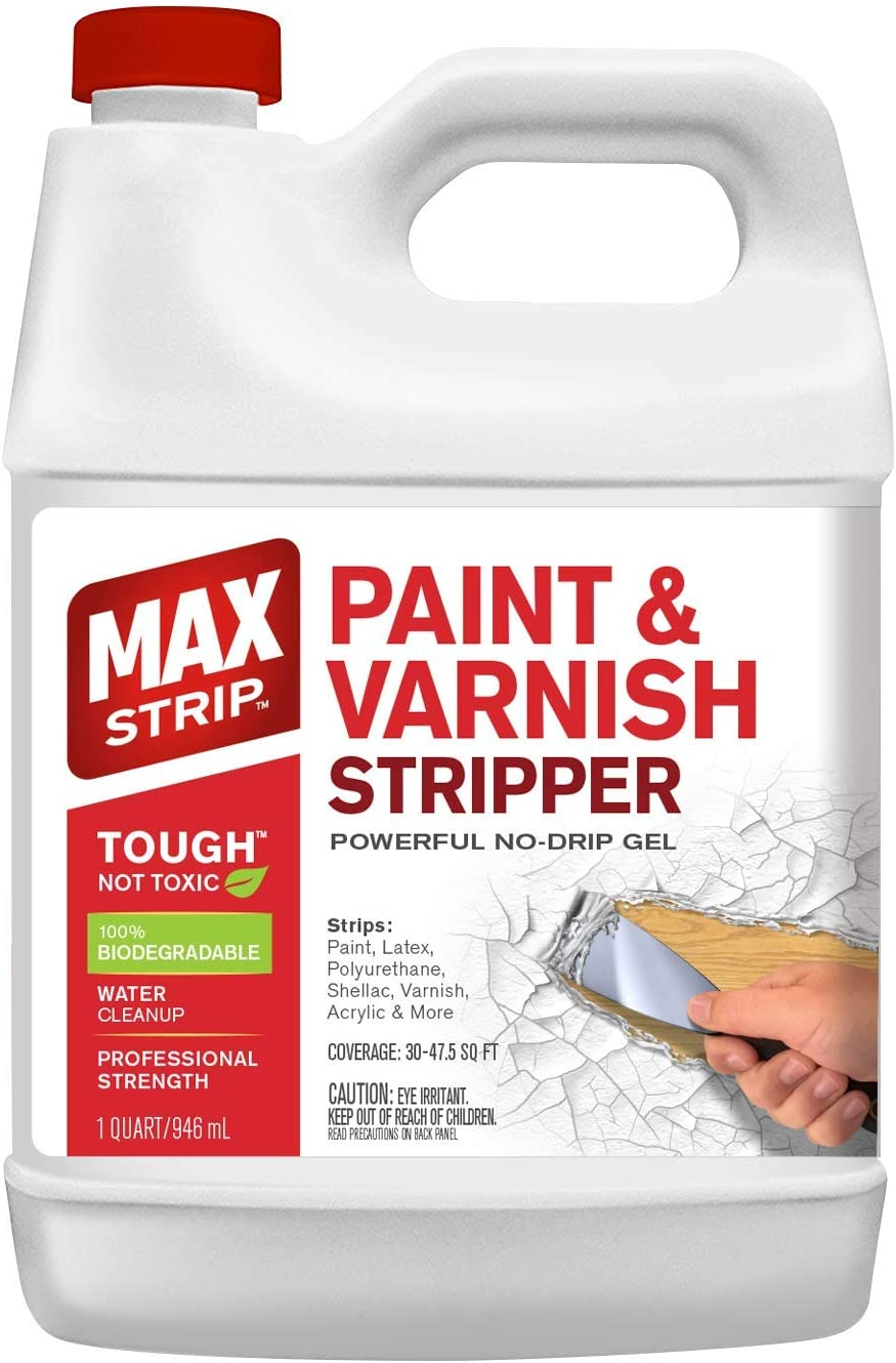 MAX Strip Paint & Varnish Stripper 1 Qt