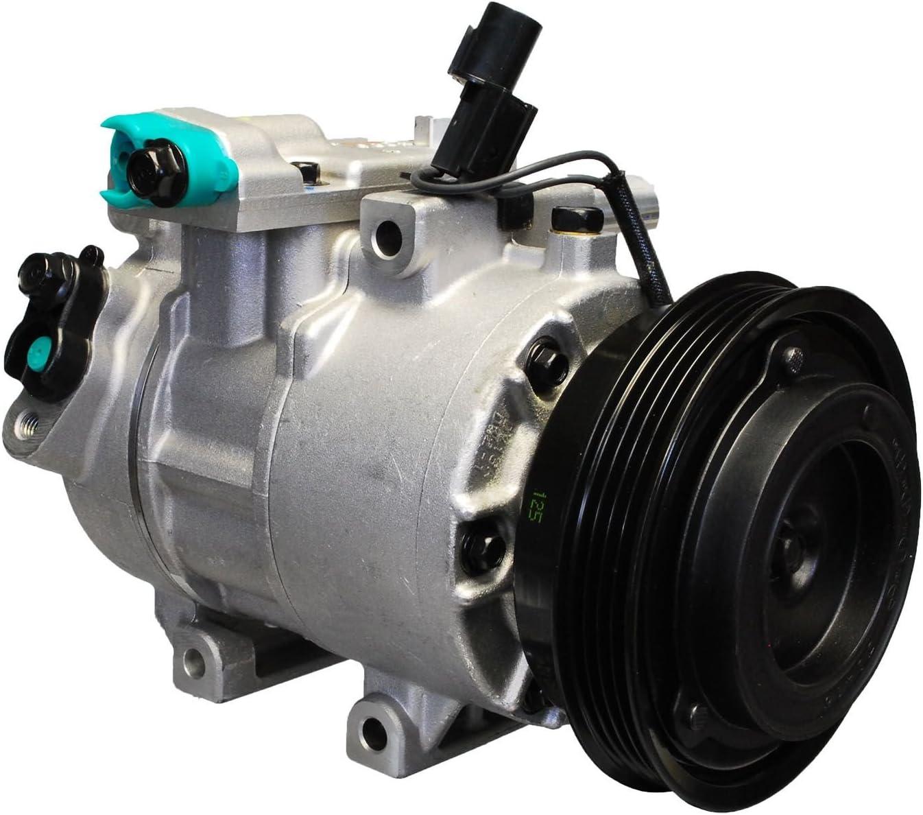 AC Compressor /& A//C Clutch For Kia Spectra Spectra5 2.0L 2007 2008 2009 BuyAutoParts 60-02416NA NEW