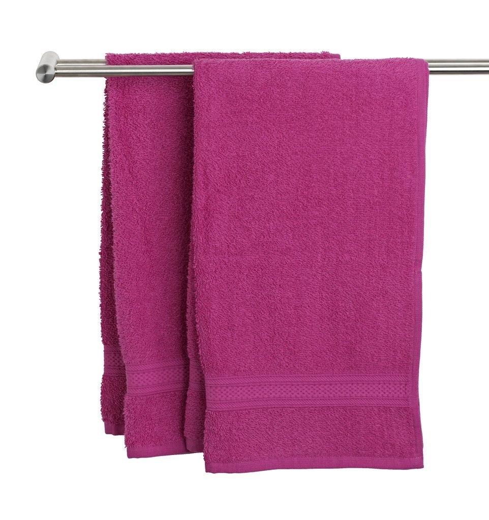 Toalla de Uppsala JYSK rosa Kronborg, algodón, Rosa, Toalla de baño: Amazon.es: Hogar