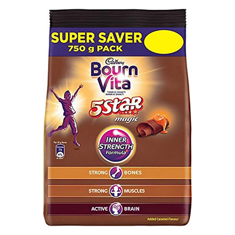 Cadbury Bournvita 5 Star Magic Health Drink Pack - 750g