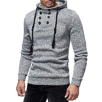 Sudadera con capucha, Para hombre camiseta manga larga, ropa deportiva, Camiseta para hombre