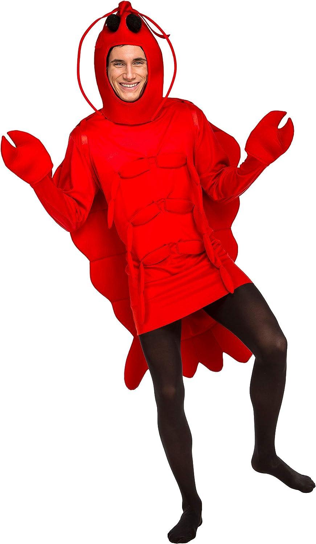 My Other Me Me-203801 Disfraz de bogavante, M-L (Viving Costumes 203801)