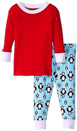 5219a7b36765 Amazon.com  New Jammies Baby Boys  Organic Pajamas Poised Penguins ...