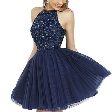 Beauty Bridal Reizend Halsholder Promkleid Abschlusskleider A-Linie ...
