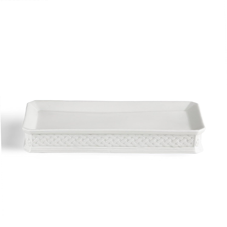 Lotion Dispenser, Kassatex Kensington Bath Accessories   Embossed Porcelain