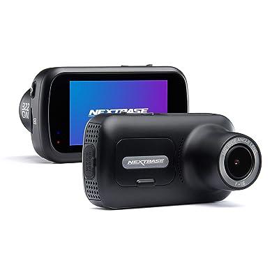 "Nextbase 322GW Dash Cam 2.5"" HD 1080p Touch Screen Car Dashboard Camera, Quicklink WiFi, GPS, Emergency SOS, Wireless, Black : Camera & Photo"