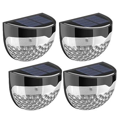 4 PACK] Eclairage exterieur sans fil Weatherproof/Lampe solaire ...