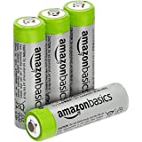 Amazon Basics AA High-Capacity Rechargeable 4-Pack