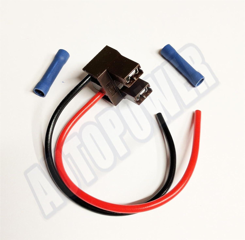 H7 499 477 Bulb Holder Plug Headlamp Wiring Repair Headlight & Connectors AutoPower