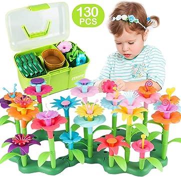 CENOVE Juguetes para niñas de 3 4 años de Edad Juego de Juguetes de Construcción de