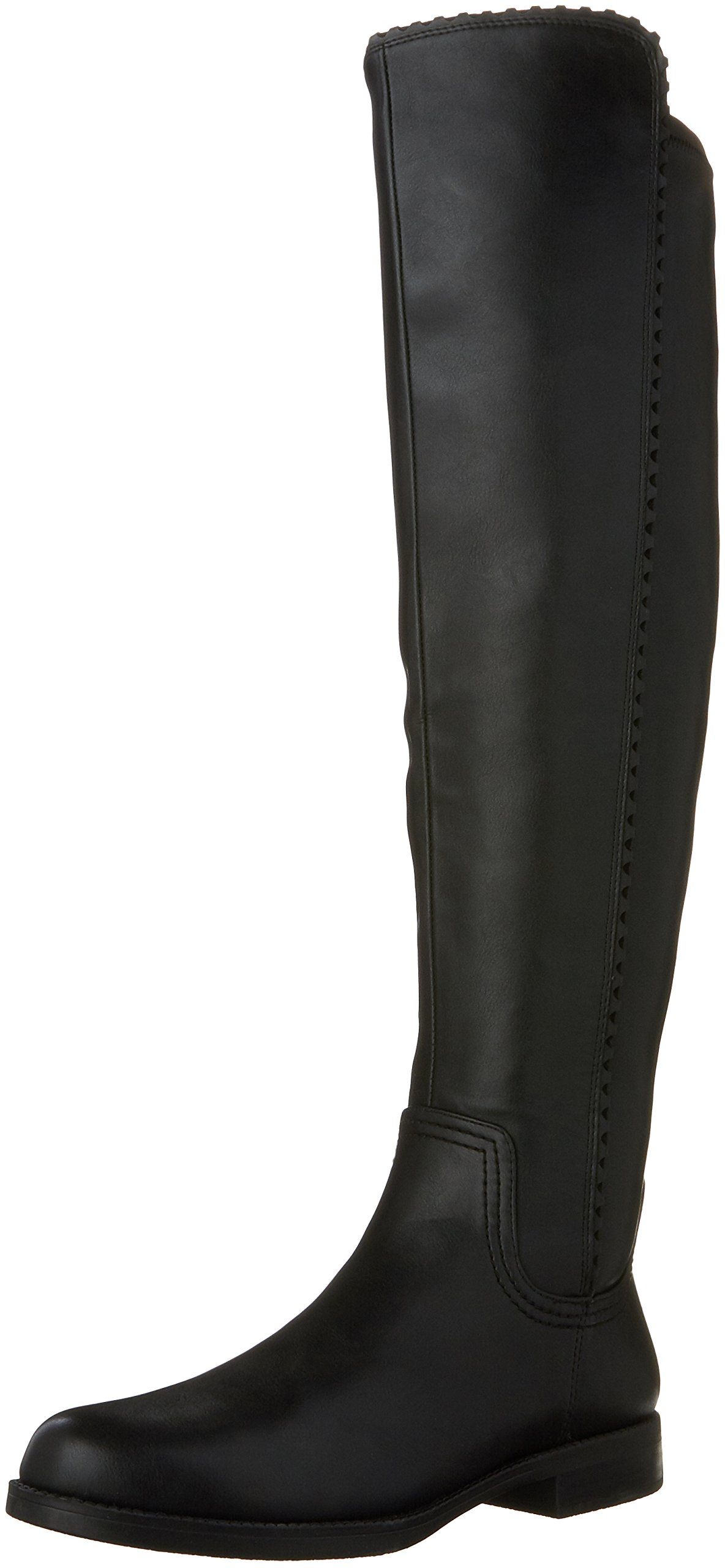 Franco Sarto Women's Charlotte Over The Knee Riding Boot (8 B(M) US, Black)