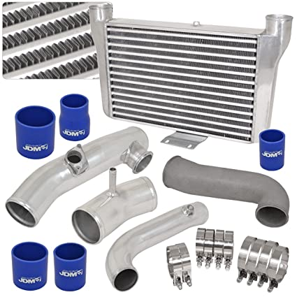 For Scion/Toyota FRS FT86 GT86 Subaru BRZ Turbo Front Mount Silver Intercooler + Piping