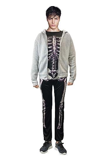 Donnie Darko Skeleton Set (Suit + Hoodie) Coat Adult Costume Jumpsuit