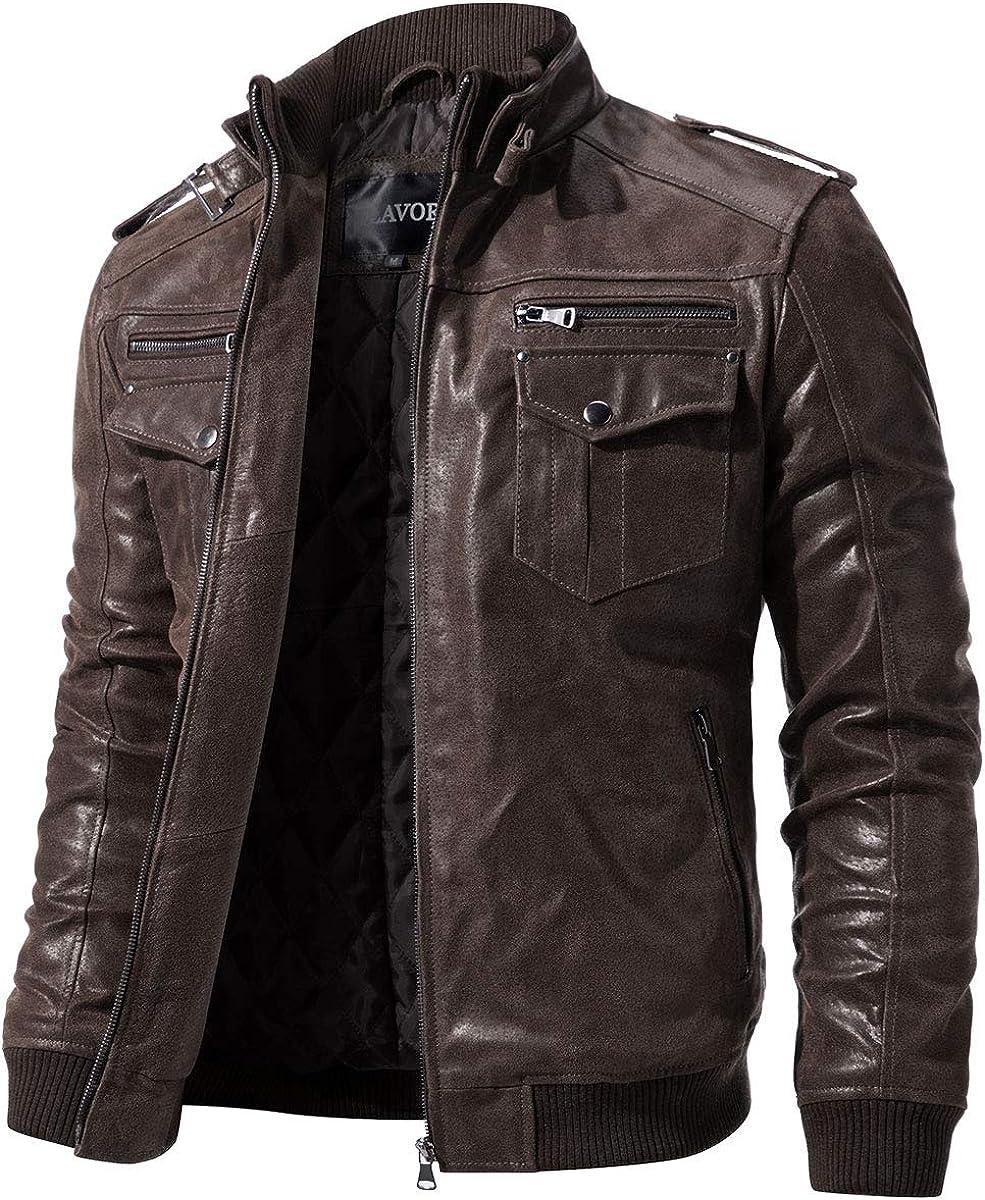 Men Genuine Leather Waistcoat Vest Top Motorcycle Biker Black Vintage Casual