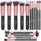 BESTOPE Makeup Brushes 16 PCs Makeup Brush Set Premium Synthetic Foundation Brush Blending Face Powder Blush Concealers…