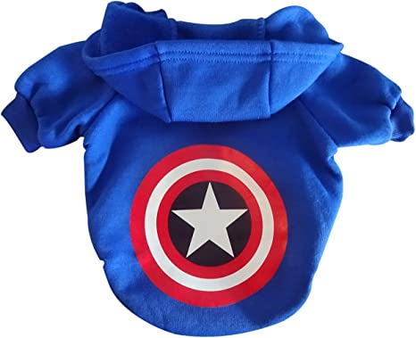 Superhero Hoodie Girls Fancy Dress Comic Book Day Avengers Childs Kids Costume