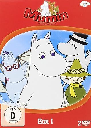 Mumin Box 1 2 Dvds Amazonde Nn Dvd Blu Ray