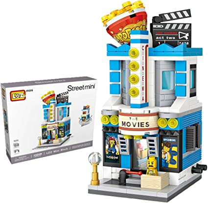 LOZ Building Micro blocks World Famous monuments Kit Toy Children DIY Gifts