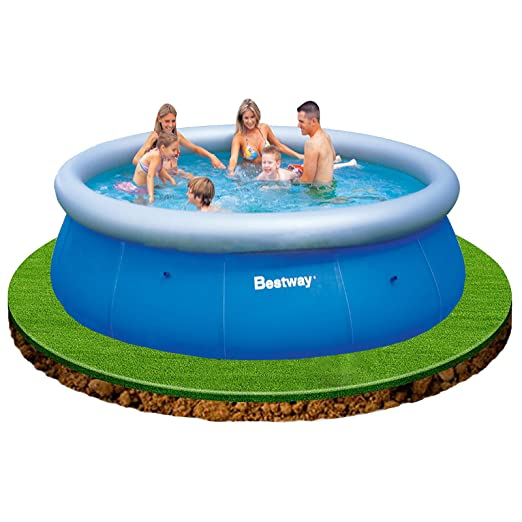 Bestway Fast Set - Piscina Redonda, 366 x 91 cm: Amazon.es ...