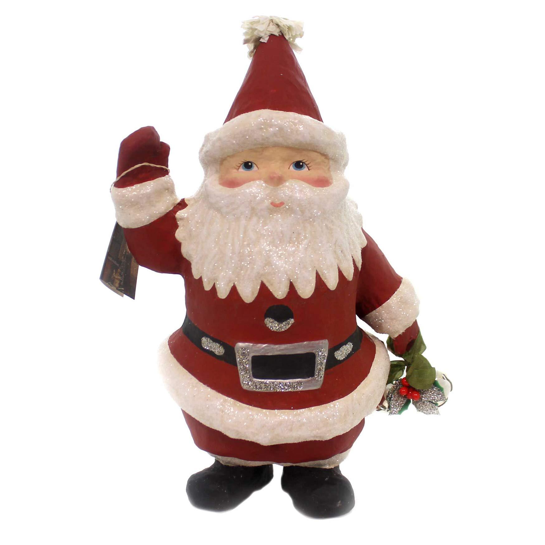 Christmas Little Santa PM Paper Retro Bells Tj7558