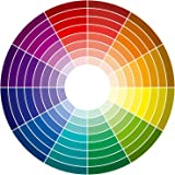 Wallmonkeys Color Wheel 96 Colors Peel and Stick Wall Decals WM20111 (18 in H x 18 in W)