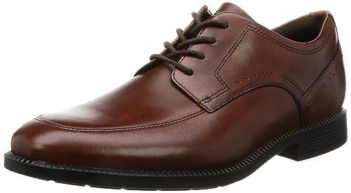 Rockport Men's Dressport Modern Apron Toe Oxfords, Brown (New Brown), 6.5 UK